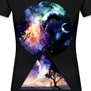 Galaxy - We are all Made of Star Stuff - Women's Premium T-Shirt