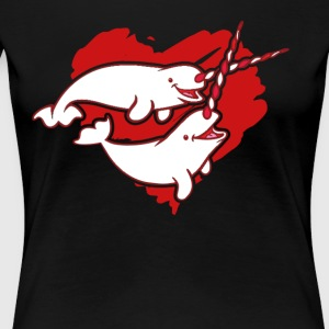 Narwhal Love Clothing - Women's Premium T-Shirt