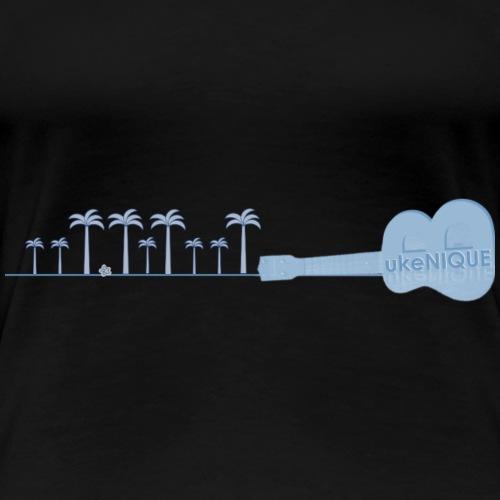 B ukeNIQUE Trees bl - Women's Premium T-Shirt