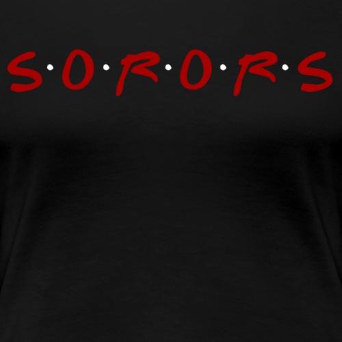 Friends-Inspired Sorors - Women's Premium T-Shirt
