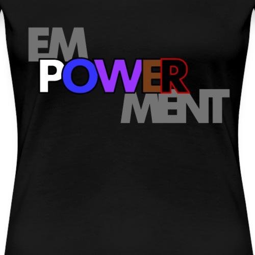 emPOWERment Woman's Jiu-Jitsu Top - Women's Premium T-Shirt