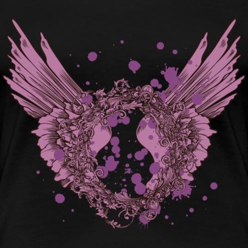 Winged Expression - Women's Premium T-Shirt