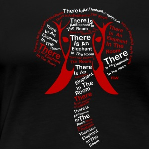 ThereIsAnElephantInTheRoom - Women's Premium T-Shirt