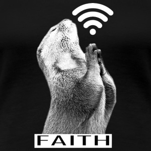 Faith Animal Pray - Women's Premium T-Shirt
