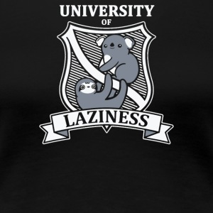 University Of Laziness - Women's Premium T-Shirt