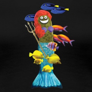 Mermaid Pickle - Women's Premium T-Shirt