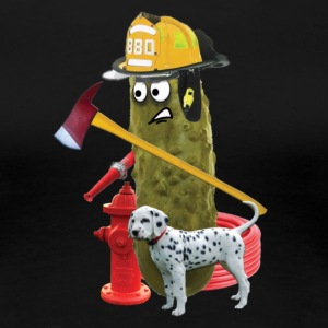 Firefighter Pickle - Women's Premium T-Shirt