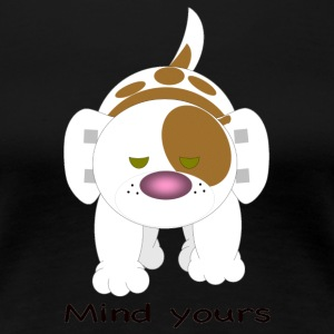 Hazey mind yours - Women's Premium T-Shirt