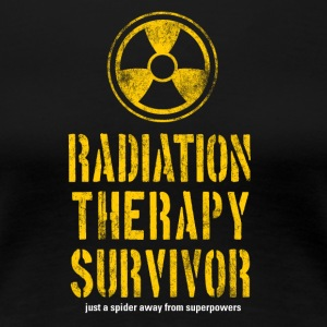 Radiation Therapy Survivor - Women's Premium T-Shirt