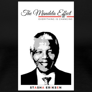 The Mandela Effect Book Cover - Women's Premium T-Shirt