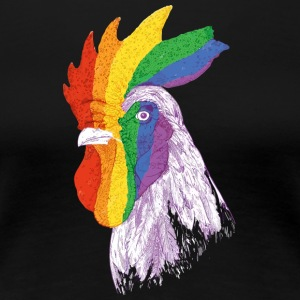 Rooster Pride - Women's Premium T-Shirt