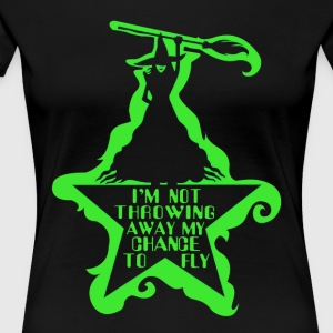 Hamilton&Wicked Musical Crossover - Women's Premium T-Shirt