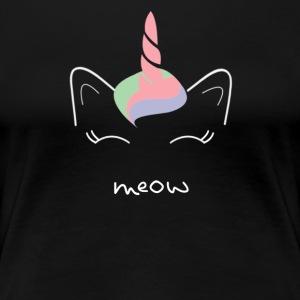 meow UnicornCat - Women's Premium T-Shirt
