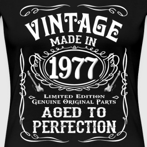 Vintage Made In 1977 - Women's Premium T-Shirt