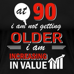 Funny 90 year old gifts - Women's Premium T-Shirt