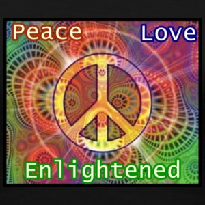 enlightened_by_peace - Women's Premium T-Shirt
