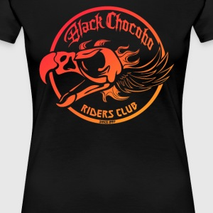 Black Chocobo Riders Club - Women's Premium T-Shirt