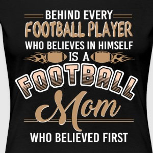 Football Mom T Shirt - Women's Premium T-Shirt