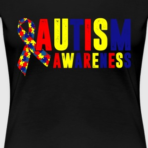 Autism Awareness Shirt - Women's Premium T-Shirt