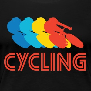 Cycling Pop Art - Women's Premium T-Shirt