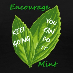 Encourage Mint - Women's Premium T-Shirt