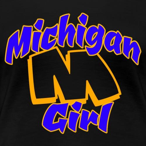 Michigan Girl - Women's Premium T-Shirt