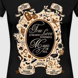 OUAT quotes. Once Upon A Time. - Women's Premium T-Shirt