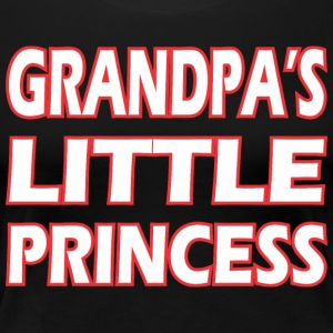Grandpas Little Princess - Women's Premium T-Shirt