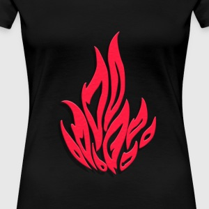 Flame - Women's Premium T-Shirt