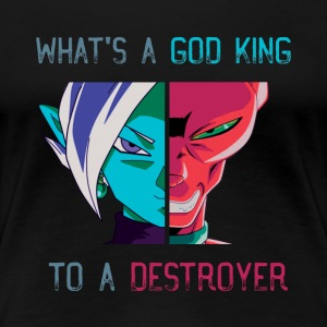 God of Destruction - Women's Premium T-Shirt