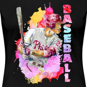 baseball player tee shirt - Women's Premium T-Shirt