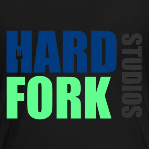 Hard Fork Logo Long - Women's Premium T-Shirt
