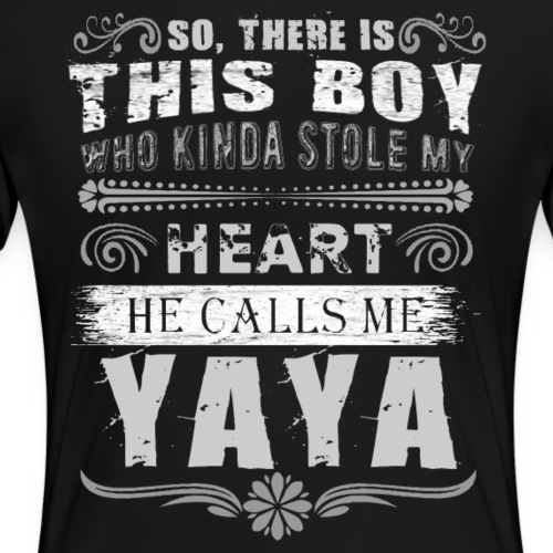 Boy Stole My Heart Call Me Grandma Tees - Women's Premium T-Shirt