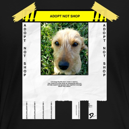 Adopt Not Shop - Women's Premium T-Shirt