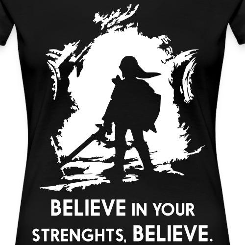 ZELDA_BELIEVE - Women's Premium T-Shirt