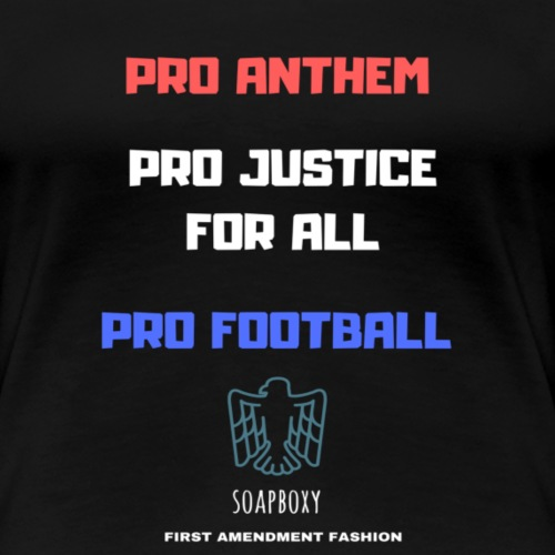 Pro Football Tee and Hoodie - Women's Premium T-Shirt