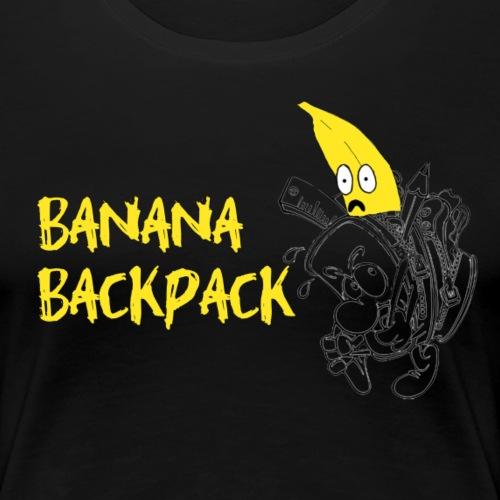banana backpack - Women's Premium T-Shirt