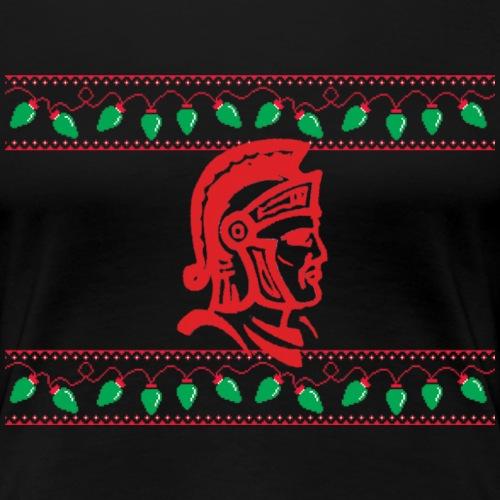 Warrior Ugly Sweater - Women's Premium T-Shirt