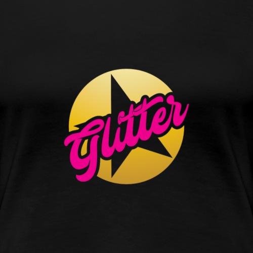 Glitter Bellydance Show - Women's Premium T-Shirt
