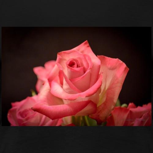 Rose at Candlelight - Women's Premium T-Shirt