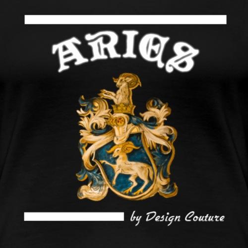 ARIES WHITE - Women's Premium T-Shirt
