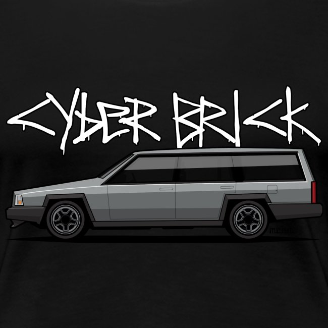 Cyberbrick Future Electric Wagon Graffiti