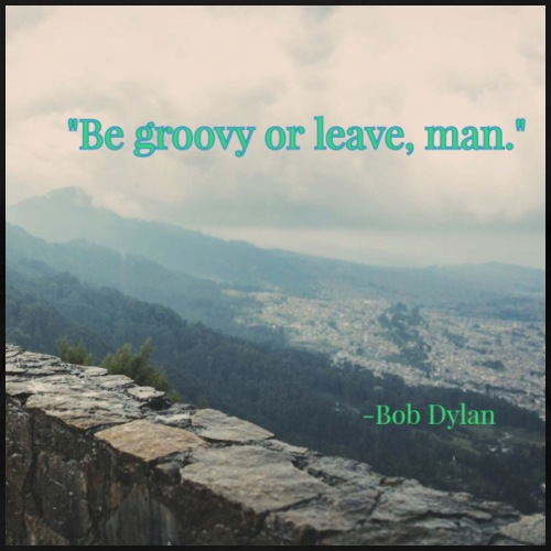 Bob Dylan's words of wisdom - Women's Premium T-Shirt