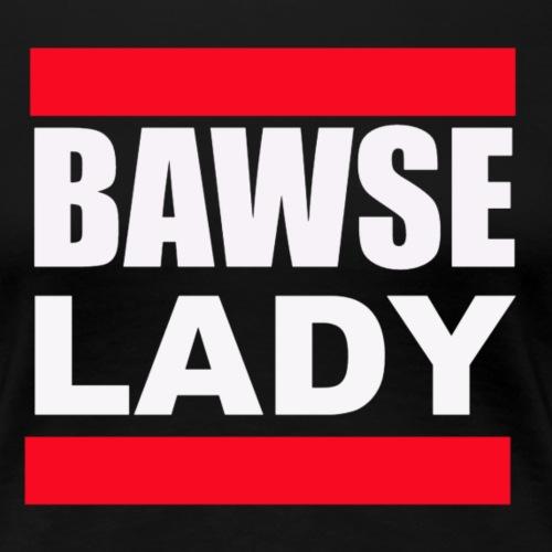 Bawse Lady Black - Women's Premium T-Shirt