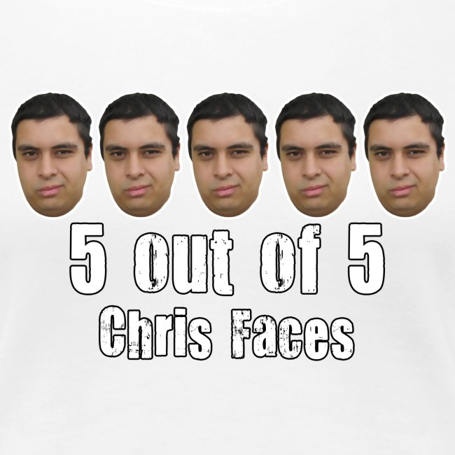 chris faces tshirt full color2