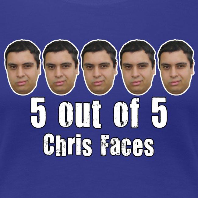 chris faces tshirt full color2