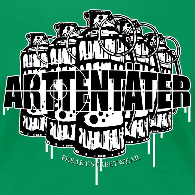 Arttentäter 2 make art, not war
