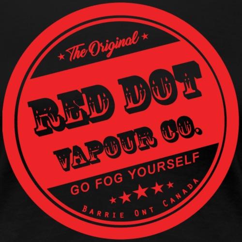 Old School Red Dot Vapour - Women's Premium T-Shirt