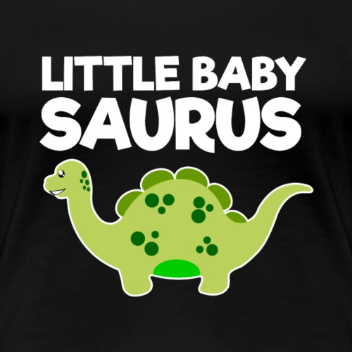 Green Little Baby Saurus - Women's Premium T-Shirt