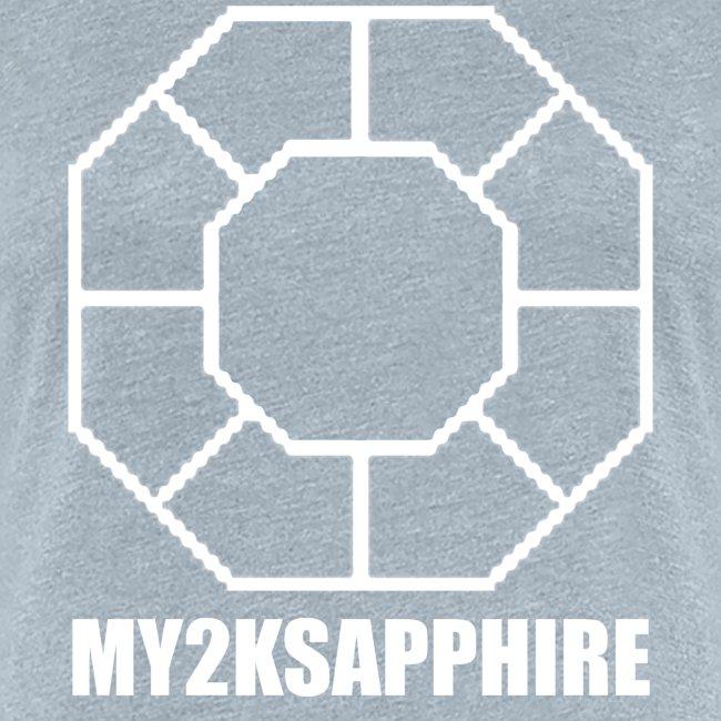 Unisex White Sapphire Hoodie